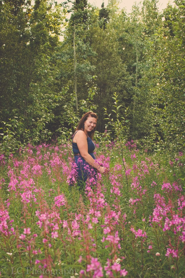 isn't this fireweed great?  it's just by my house.  I think I will be going back here soon...