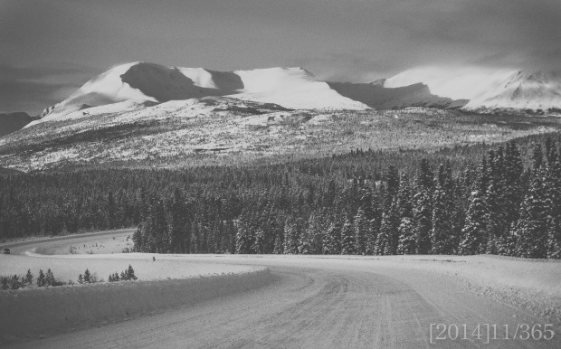 Trying to go for a little Ansel Adams style :)