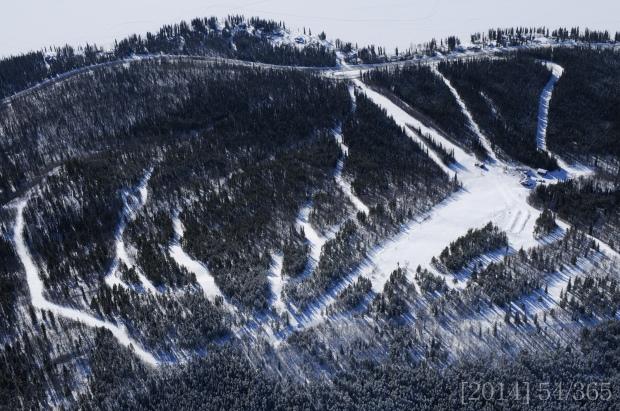 Mt. Maichen Ski Hill:  Nikon D300s || 40mm || ISO 320 || f 10 || 1/1250