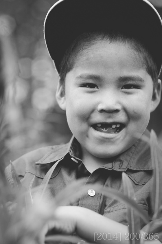 From the shoot on Sunday.  This little guy loved to smile!