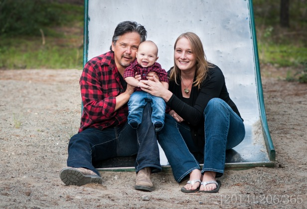 From a family shoot