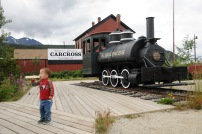 All aboard for Carcross!