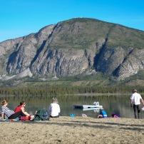 A gorgeous morning at Pine Lake