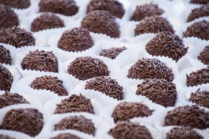 Brigadeiro, a lovely chocolate treat