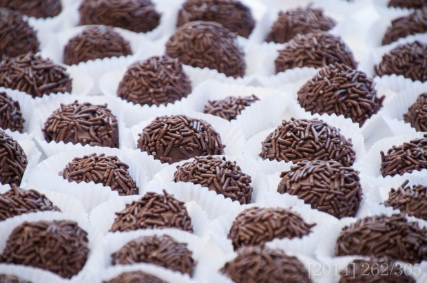 Brigadeiro, a lovely chocolate treat