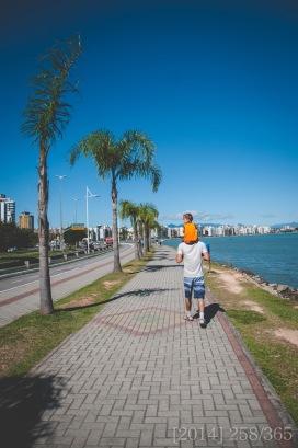 along Beira-Mar