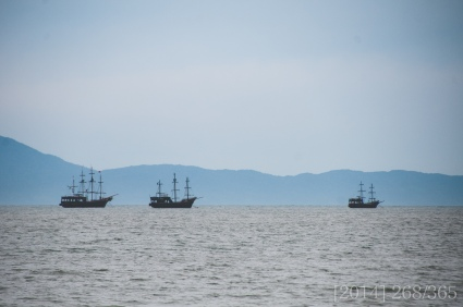 Pirate ships?