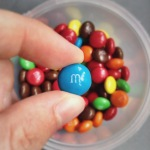 M is for M&Ms