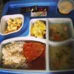 Y is for Yummy hospital food