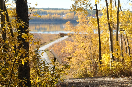 Wye Lake Trail in September
