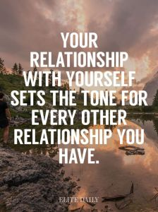 relationship with self